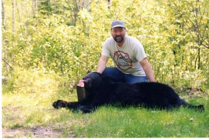 Canada Bear hunting